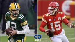 Las posibilidades de Packers y Chiefs para llegar al Super Bowl