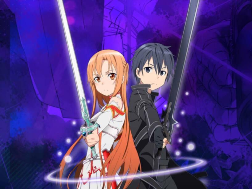 Sword Art Online Asuna y Kirito