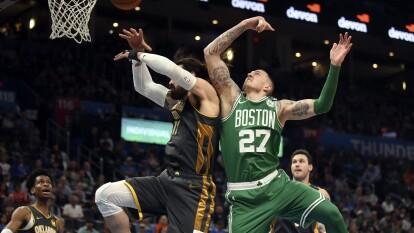 Oklahoma City Thunder 111-112 Boston Celtics