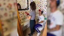 ¡Así se lavan las manos! aprende a desinfectarlas bien con esta narración digna de una final de futbol