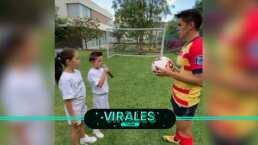 Efraín Velarde hace emotivo protocolo Liga MX en casa