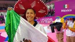 Briseida Acosta cumple con oro y presiona en la carrera olímpica