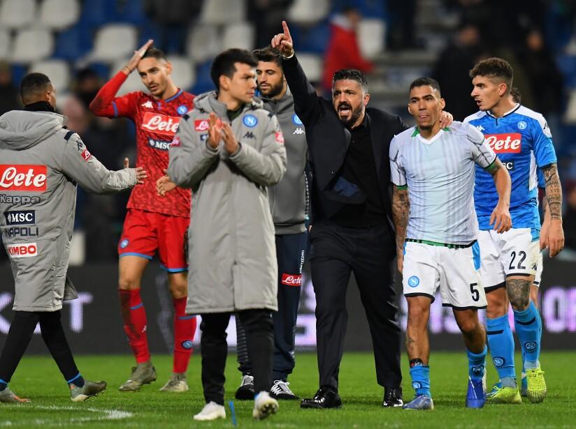 El equipo de Hirving 'Chucky' Lozano, llegó a 24 unidades tras 17 jornadas disputadas. Junior Traorè (29') abrió el marcador para los locales. Marques Loureiro (57') emparejó los cartones y un autogol de Obiang (94') le dio la victoria a los napolitanos. El mexicano no tuvo minutos en el partido.