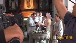 Detrás de cámaras: ¡El bautizo de José María!