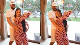 Natti Natasha comparte su felicidad de estar embarazada y lo demuestra bailando un hip-hop