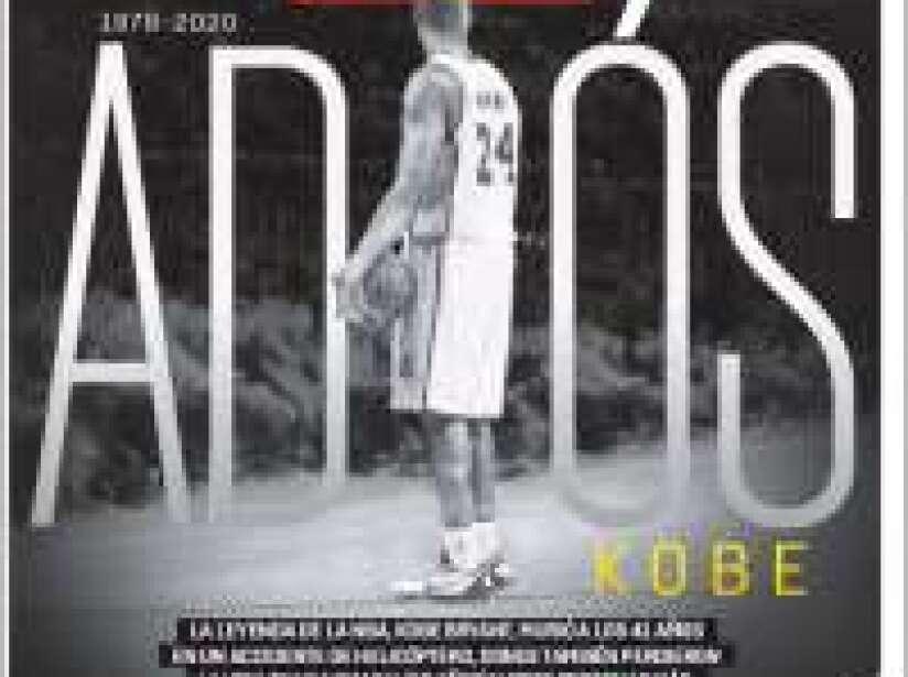 Kobe Bryant, periódico, ESTO+.jpg