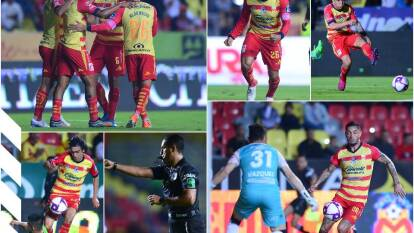 Morelia vence 6-1 al FC Juárez con goles de Vegas, Flores, Rocha, Aristeguieta, Ramírez y Mendoza; Rolan descontó por la visita.