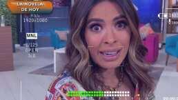 ¡Cuidado, está caliente!: A Galilea Montijo se le cayó el café encima en pleno programa