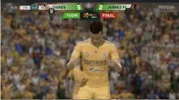¡Goleada virtual! Venegas y sus Tigres vencen 5-2 a los Bravos