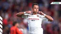¡Qué gol de Chicharito! El mexicano marcó el 1-0 ante APOEL