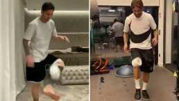 Lionel Messi, Sergio Ramos y otros futbolistas que le entraron al #10ToquesChallenge