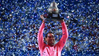 Rafa Nadal no ganaba en Acapulco desde 2013 y no cedió ningún set en el torneo