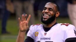 Tom Brady felicitó a LeBron por su anillo de la NBA