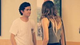 Cristóbal recibe una sorpresa de Javiera
