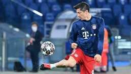 Lewandowski ya entrena en solitario tras lesión