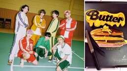 En honor a BTS, tiktoker hace un hot cake al estilo de 'Butter'