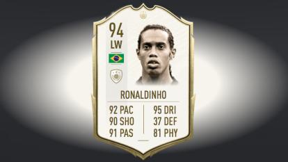 El crack exBarça, Ronaldinho, es uno de los íconos del FIFA 20 mejor rankeado. Te presentamos al Top de brasileños que acompañan a la leyenda en el juego.