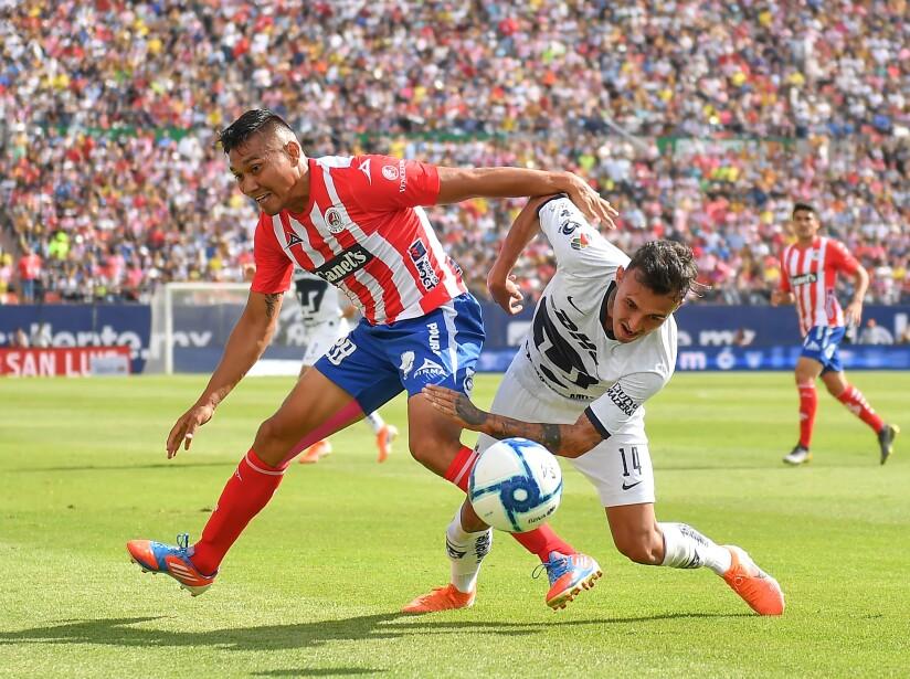 Atlético San Luis vs Pumas UNAM, en imágenes