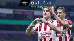 América 1-2 Chivas | Tres soberbios 'Chicotazos' definieron la serie