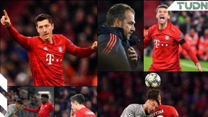 Bayern Munich anota dos goles en el segundo tiempo contra el Olympiakos y obtiene victoria; Lewandowski ha anotado seis goles en cuatro partidos de la Champions League.
