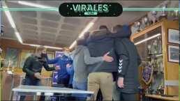 Así festejó el Alcoyano el cruce con el Real Madrid