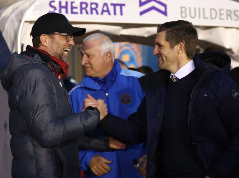 Shrewsbury Town v Liverpool FC - FA Cup Fourth Round