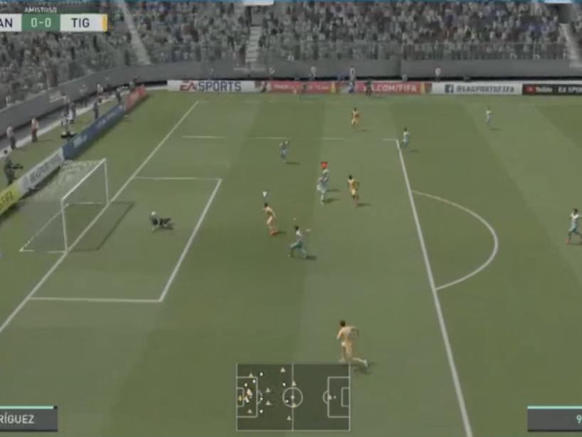 Santos vs Tigres, eLiga MX, 14.png