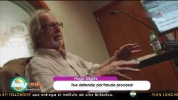 Detienen a Hugo Stiglitz por presunto fraude procesal
