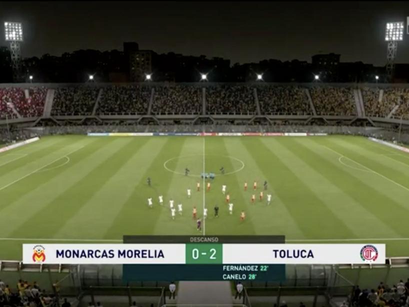 Morelia vs Toluca, J1, eLiga. 12.png