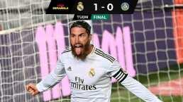 ¡Qué manera de sufrir! Ramos da el triunfo al Real sobre Getafe
