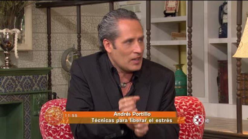 Andrés Portillo ¿Cómo liberar el estrés?