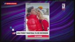Lele Pons y Guaynaa presumen su amor en las redes sociales