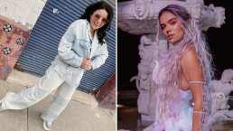 Violeta Isfel es fan de 'Tusa' y lo demuestra cantando éxito de Karol G