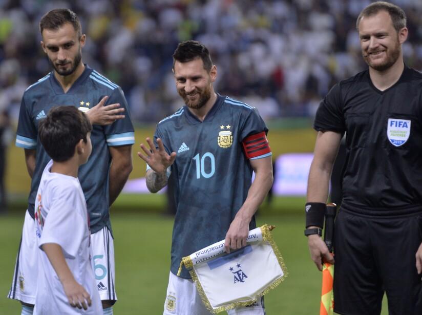 Brasil cayó por la mínima en duelo amistoso disputado en Arabia Saudita