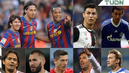 Ellos son leyenda y dueños del gol en la máxima justa europea.