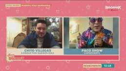 Paco Show saca su lado grupero y revela que es fan de Edwin Luna y la Trakalosa de Monterrey, Banda MS y El Recodo