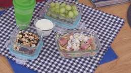 Lunch para el regreso a clases 3: Espagueti con salchichas y vegetales