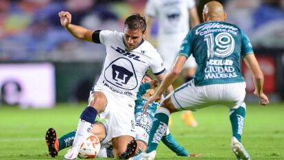 Pumas ve su primer derrota cayendo 2-0 en su visita al León.