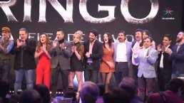 El elenco de la telenovela 'Ringo' hace su debut ante los medios de comunicación