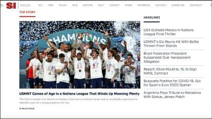 La reacción de la prensa en triunfo de Estados Unidos sobre México en Final de Concacaf Nations League.
