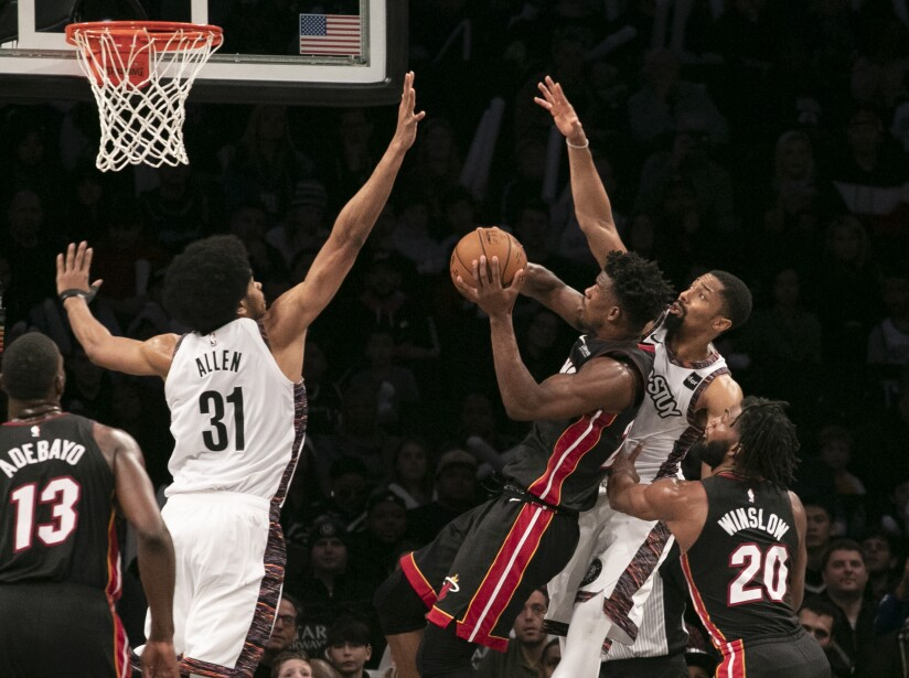 Heat Nets Basketball