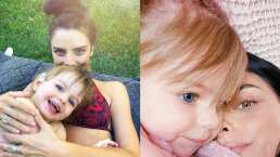 Aislinn Derbez compara su foto con la de Kailani