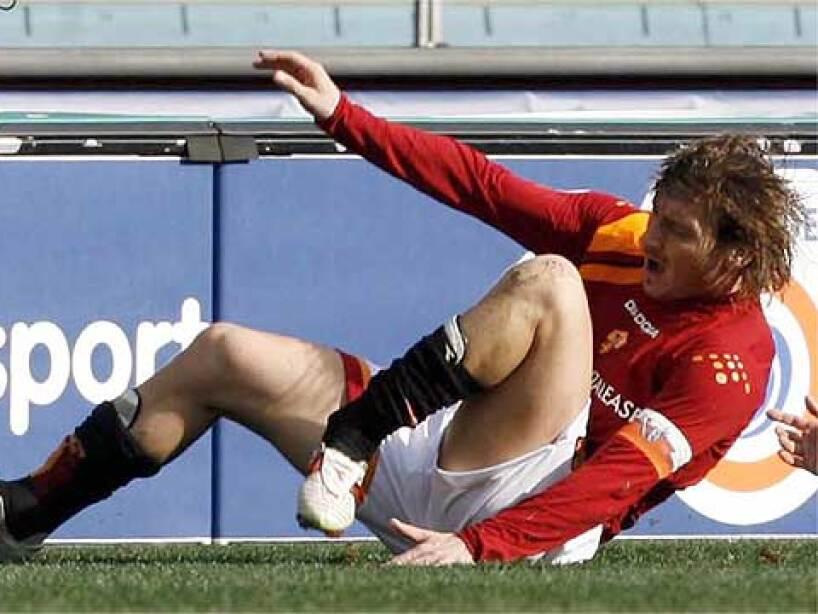 Lesiones, Totti.jpg