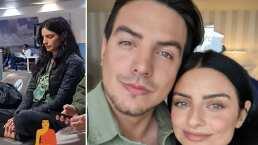 Vadhir Derbez balconea a su hermana, Aislinn ¿meditando en el aeropuerto?
