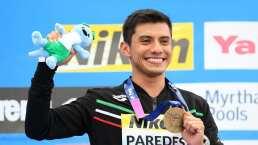 Jonathan Paredes gana bronce en el Mundial de Natación