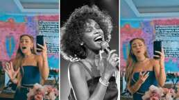 Danna Paola sorprende con su vozarrón al cantar a capela 'I Will Always Love You' de Whitney Houston