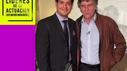 LÍDERES DE LA ACTUACIÓN: Rafael Sánchez Navarro y su mejor maestro de actuación (Entrevista Parte 1)
