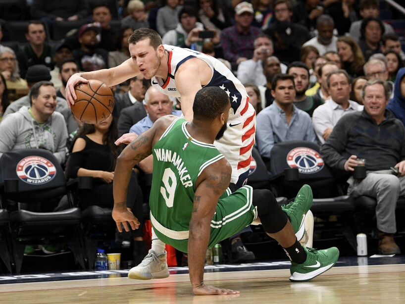 Celtics Wizards Basketball