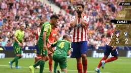 Atlético de Madrid remonta al Eibar en final de alarido