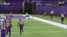 ¡Agárrenlo! Tony Pollard se escapa 42 yardas al touchdown